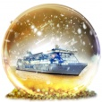 Gala Jul på Galaxy - Silja Line